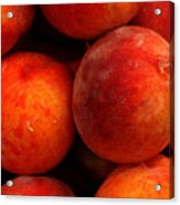 Fresh Fuzzy Peaches Acrylic Print