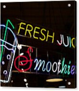 Fresh Juices Acrylic Print