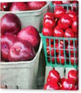 Fresh Market Fruit Acrylic Print