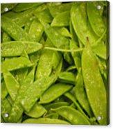 Fresh Peas Acrylic Print