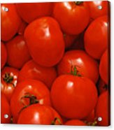 Fresh Red Tomatoes Acrylic Print