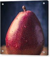 Fresh Ripe Red Pear Acrylic Print