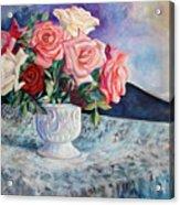 Fresh Roses Acrylic Print