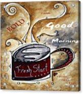 Fresh Start Original Painting Madart Acrylic Print
