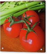 Fresh Tomatoes Acrylic Print