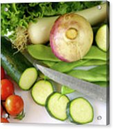 Fresh Vegetables Acrylic Print