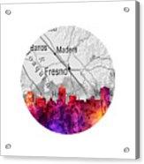 Fresno California 14rd Acrylic Print