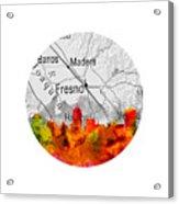 Fresno California 15rd Acrylic Print