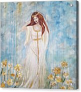 Freya - Goddess Of Love And Beauty Acrylic Print