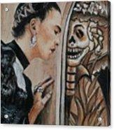Frida Catrina Acrylic Print
