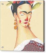 Frida Kahlo Acrylic Print