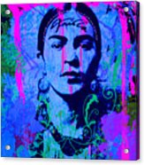 Frida Kahlo Street Pop Art No.1 Acrylic Print