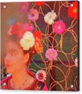 Frida Kalho Inspired Acrylic Print