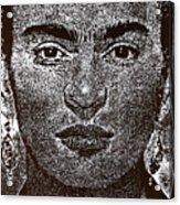 Frida Khalo Acrylic Print