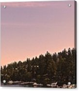 Friday Harbor Panorama Acrylic Print