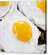 Fried Eggs Acrylic Print
