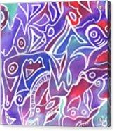 Friendly Maze Acrylic Print