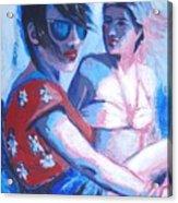 Friends - Girls On Holiday Acrylic Print
