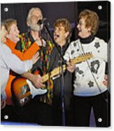 Friends In Concert Acrylic Print