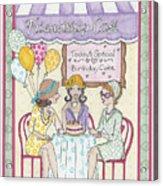 Friendship Cafe Acrylic Print