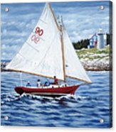 Friendship Sloop Acrylic Print