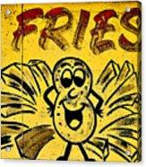 Fries Acrylic Print