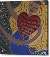 Frigga Acrylic Print