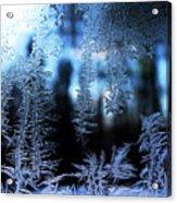 Frigid Blue Morning Acrylic Print