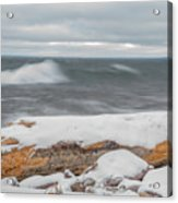 Frigid Waves Acrylic Print