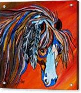 Frisco War Horse Acrylic Print