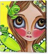 Frog Fairy Acrylic Print