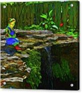 Froggy 11318 Acrylic Print