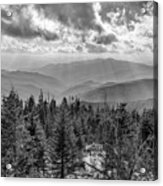 From Clingmans Dome Acrylic Print
