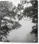 From Inside A Cloud Acrylic Print