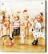 From Life Of Toys Acrylic Print
