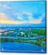 From My Window Acrylic Print