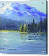 From Sparks Lake Acrylic Print