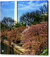 From The Basin To The Monument Acrylic Print