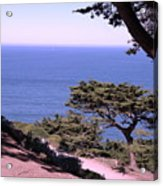 From The Cliff Of Lands' End 02 Acrylic Print