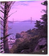 From The Cliff Of  Lands End 06 Acrylic Print