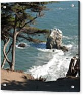 From The Cliff Of Lands' End Acrylic Print