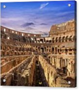 From The Floor Of The Colosseum Acrylic Print