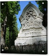From The Grave No2 Acrylic Print