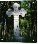 From The Grave No4 Acrylic Print