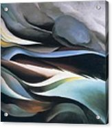 From The Lake By Georgia O'keeffe Acrylic Print