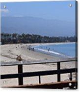 From The Santa Barbara Pier Acrylic Print
