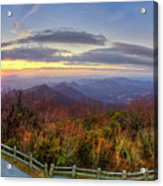 From The Top Of Brasstown Bald Acrylic Print
