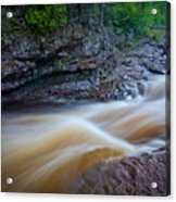 From The Top Of Temperence River Gorge Acrylic Print