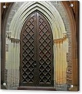 Front Door Christ Church Cathedral 4 Acrylic Print