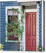Front Door Three Acrylic Print
